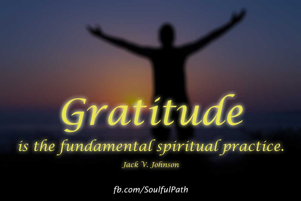 Gratitude Is The Fundamental Spiritual Practice – image