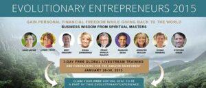 Evolutionary Entrepreneurs 2015