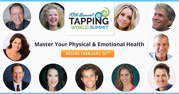 10th Annual Tapping World Summit Starts 26 February 2018!